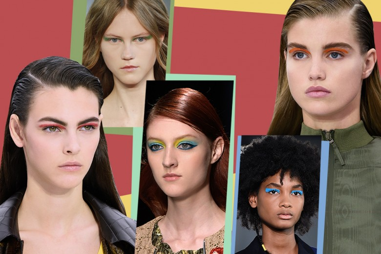 Trucco occhi: la tendenza color block per la Primavera-Estate
