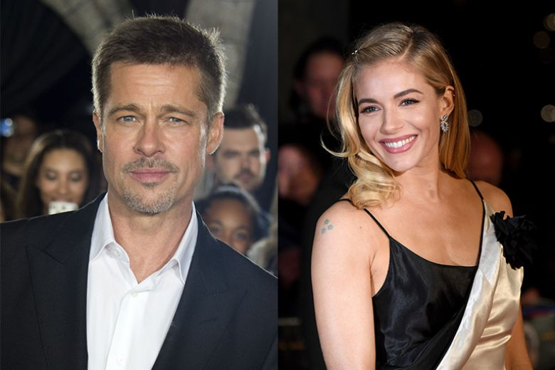 Brad Pitt e Sienna Miller: c'è un flirt nell'aria