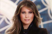 Melania Trump e l'ironia della rete: il ritratto della Casa Bianca diventa virale