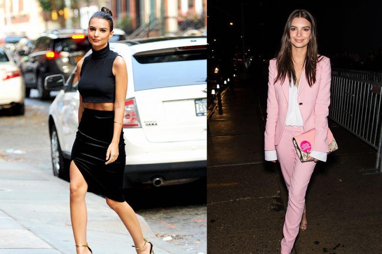 Emily Ratajkowski: i best look tra red carpet e street style