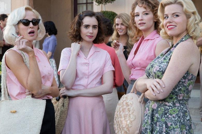 L'eccezione alla regola, i look ispirati a Lily Collins