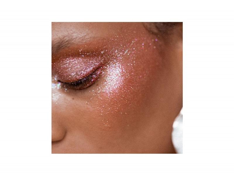 make up viso glitter festival look (3)