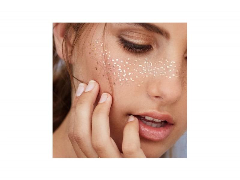 make up viso glitter festival look (7)