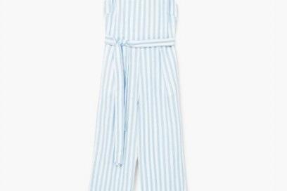 mango jumpsuit righe