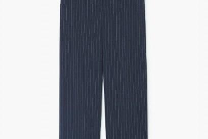 mango pantaloni gessato