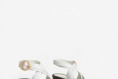 mango sandali bianchi
