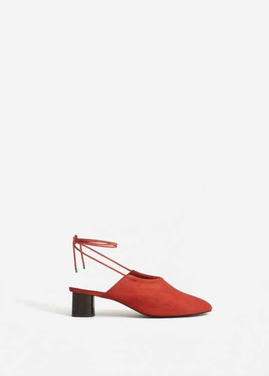 mango suede scarpe