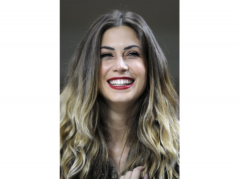 Melissa Satta Capelli I Look Piu Glam Dal Liscio Allo Shatush
