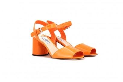 prada-scarpe-vernice-arancione