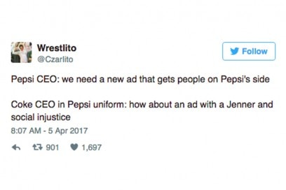 reazioni twitter kendall jenner pepsi
