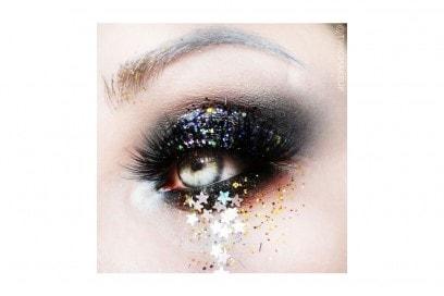trucchi occhi glitter per la stagione dei festival (9)