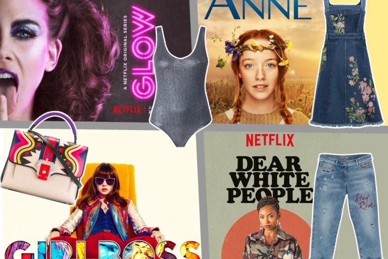 Il look delle protagoniste delle serie TV Netflix