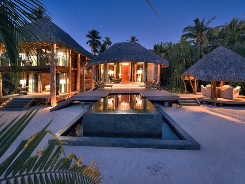 TAHITI. ATOLL DE TETIAROA. HOTEL BRANDO.VILLA 112 ( DEUX CHAMBRES)