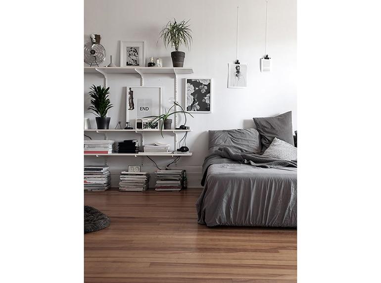 10 modi per decorare le pareti della camera da letto - Pareti a righe camera da letto ...