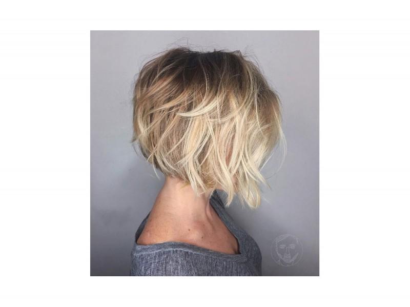 capelli sfumati corti