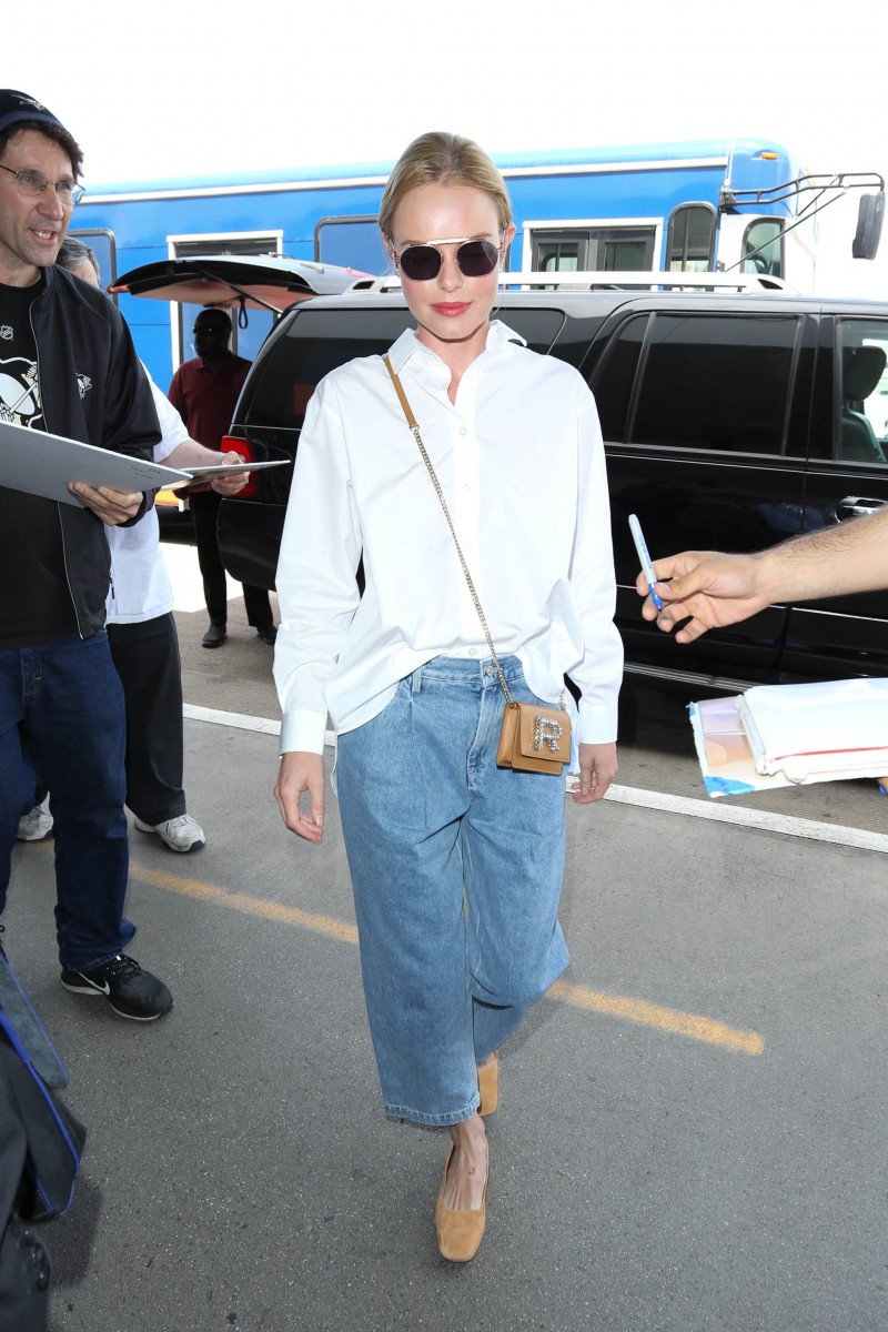 Kate Bosworth is seen at LAX