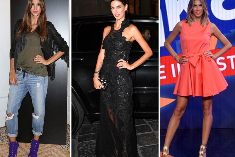 Melissa Satta: lo stile della showgirl più amata dalle italiane