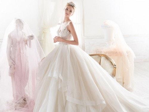 da37afc71ab4 Nicole Spose 2018  la collezione di abiti per la prossima stagione ...
