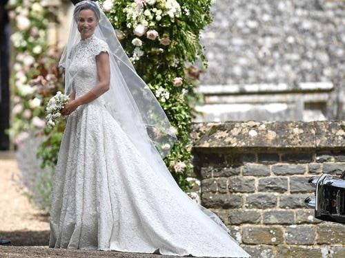 410b2b79de97 Pippa Middleton  l abito da sposa del matrimonio