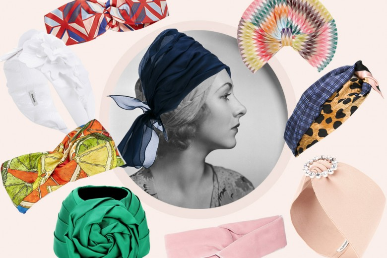Accessori per l'estate: fasce e turbanti