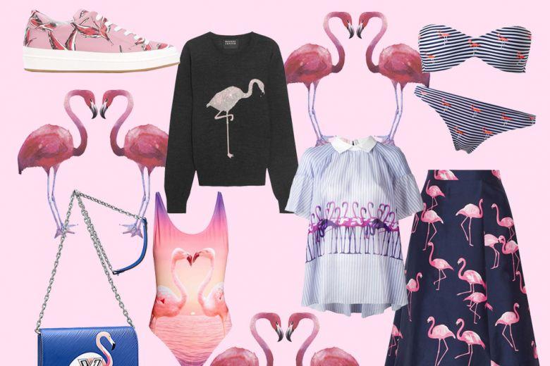 We love Flamingos: la stampa con fenicotteri conquista l'estate 2017