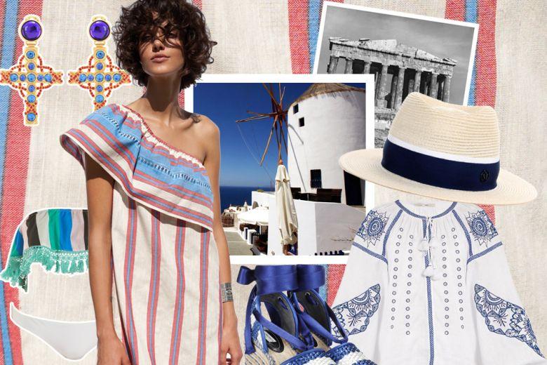 Vacanze in Grecia: i capi e gli accessori must-have da mettere in valigia
