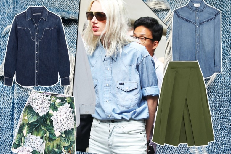 Come abbinare la camicia in jeans