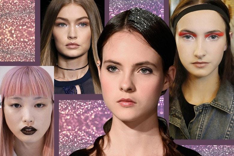 Trucco glitter: la tendenza per un beauty look scintillante