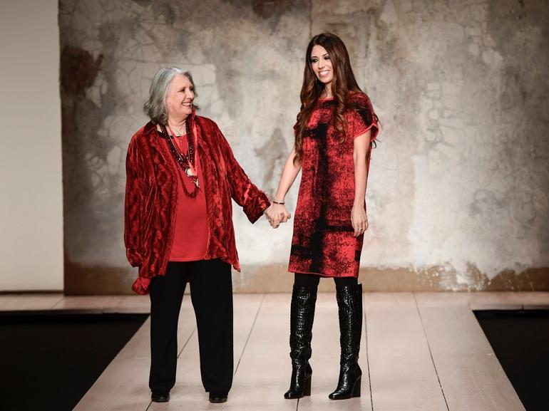 Malore per Laura Biagiotti, stilista ricoverata a Roma