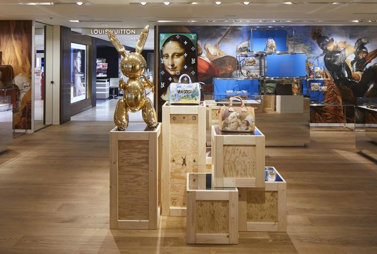 Louis Vuitton apre a Milano il primo pop-up store permanente