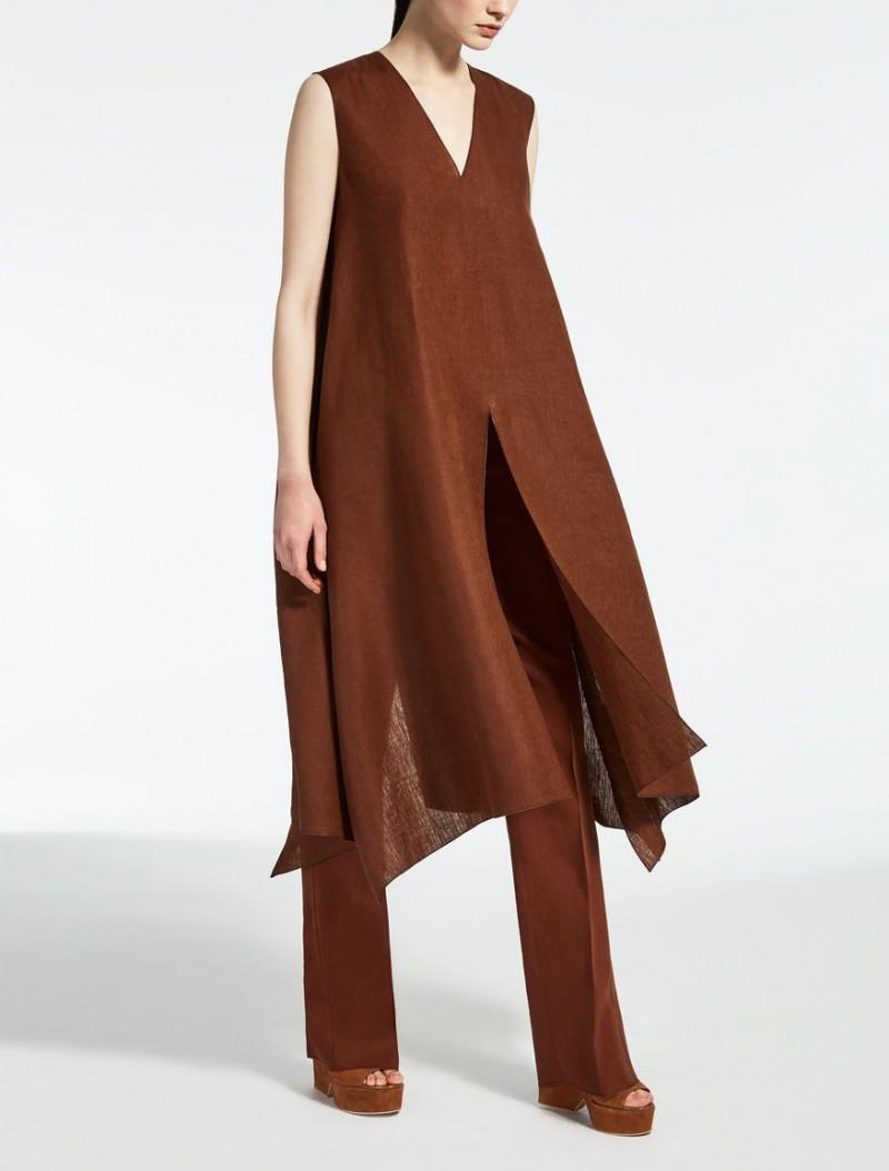 Max Mara tunica di lino