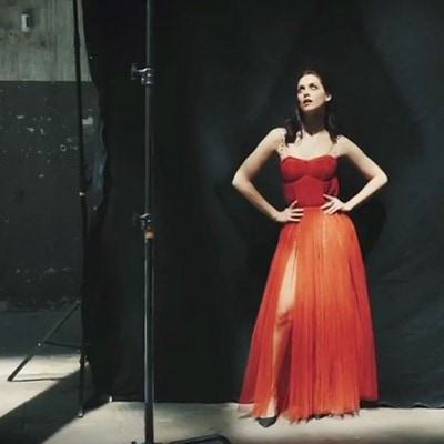 Miriam Leone: il backstage
