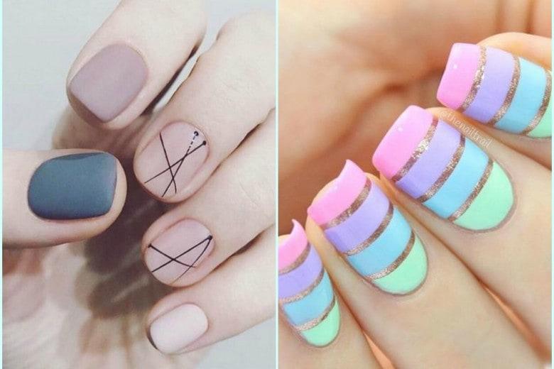 Nail art: tutte le tendenze della Primavera Estate 2017
