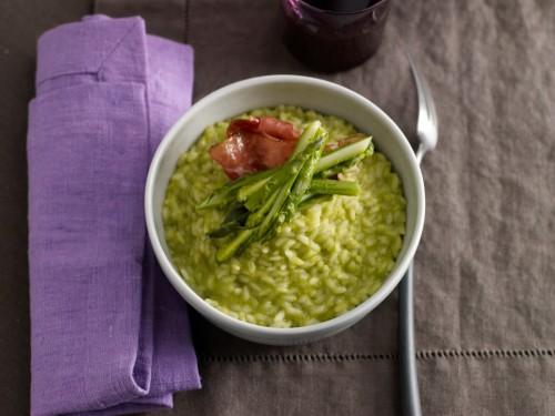 Risotto agli asparagi selvatici - Grazia