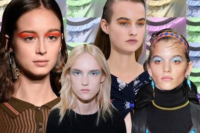 Trucco occhi colorato: dal color block in tinte pop alle tonalità pastello