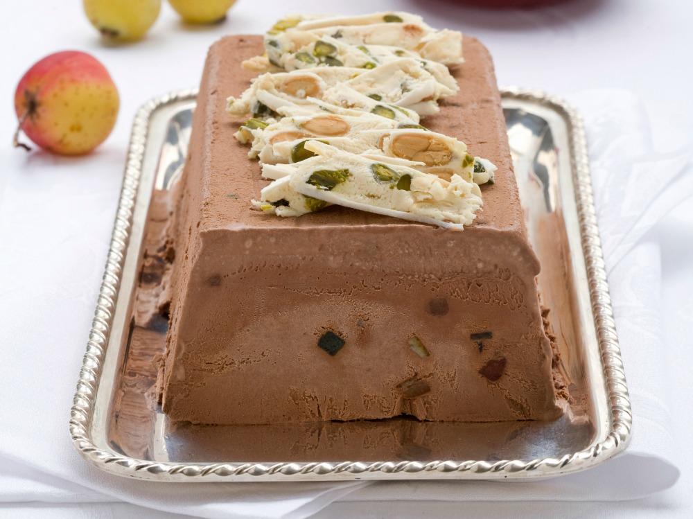 Semifreddo al cioccolato croccante