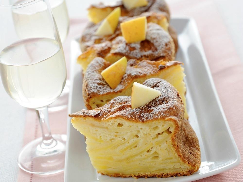 Torta di mele soffice senza burro (2)