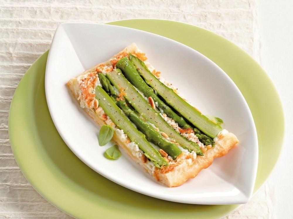 Torta salata rovesciata agli asparagi (2)