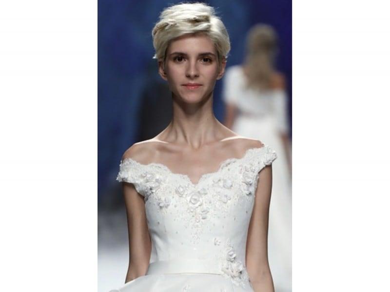 acconciature capelli corti sposa Galatea