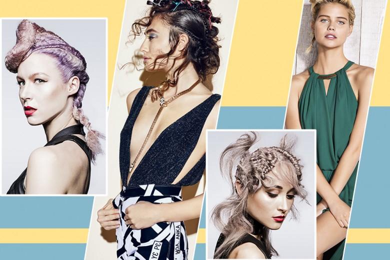 Le più belle acconciature capelli dai Saloni per la Primavera Estate 2017