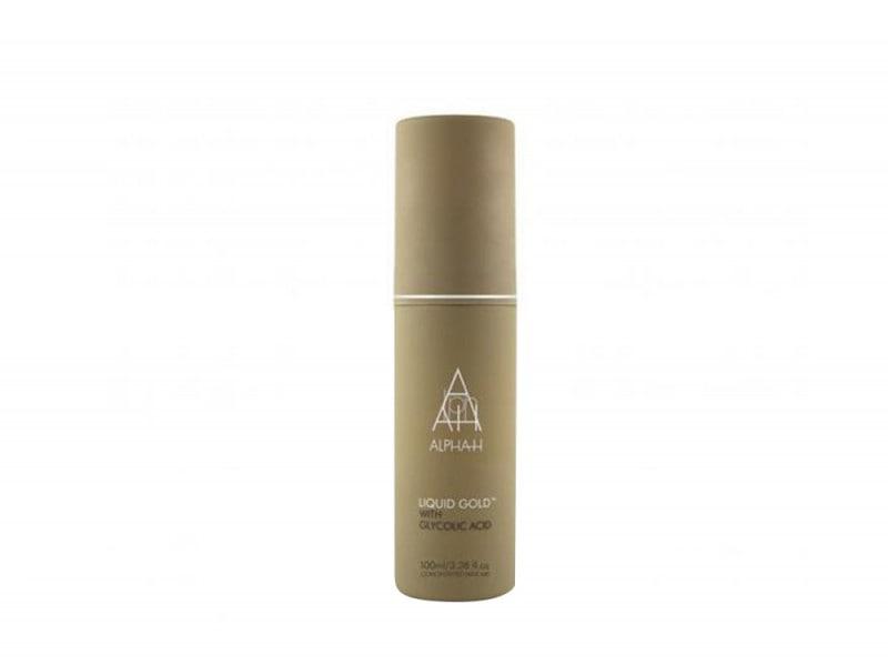 alpha h trattamento liquid gold acido glicolico prodotti viso pelle levigata purificata perfetta giovane