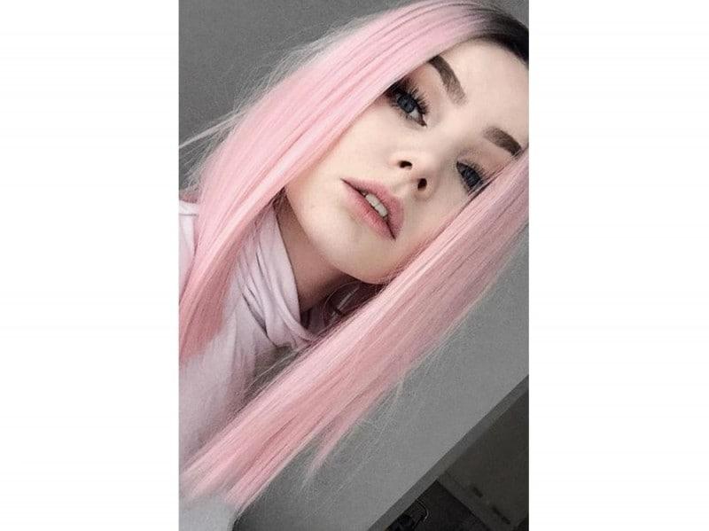 capelli rosa millennial pink (4)