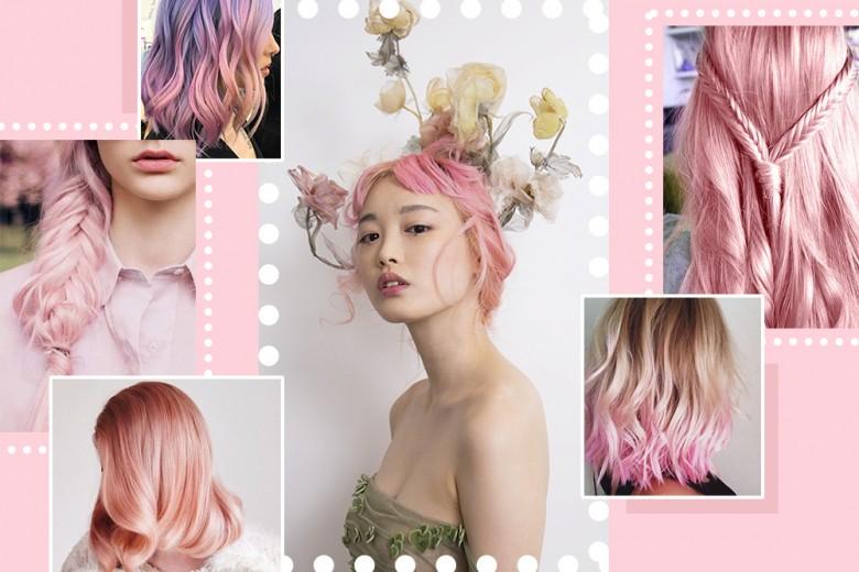 Capelli rosa Millennial Pink: la tinta più cool del momento