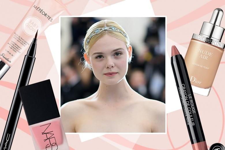 Elle Fanning make up: copia il trucco nude