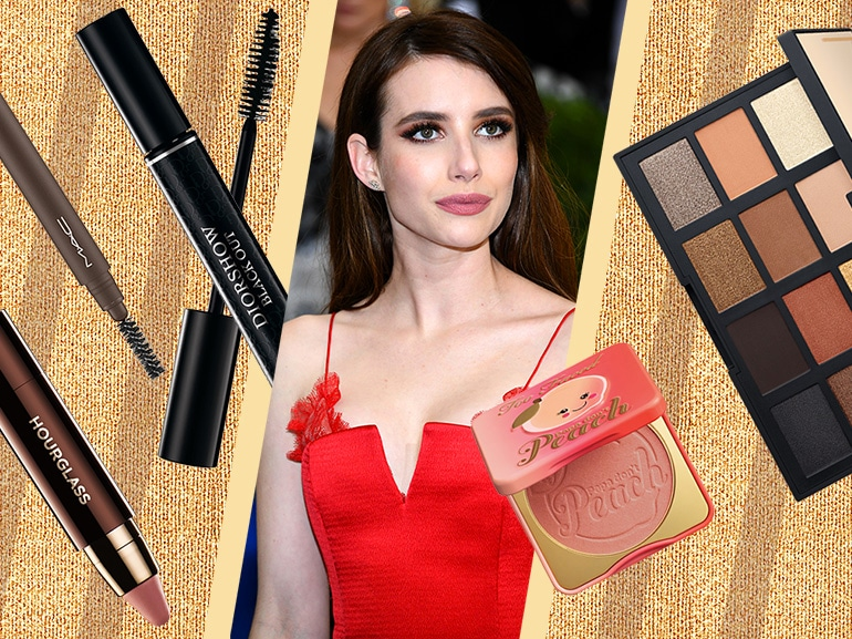 Emma Roberts make up: copia il look con smokey eyes intenso