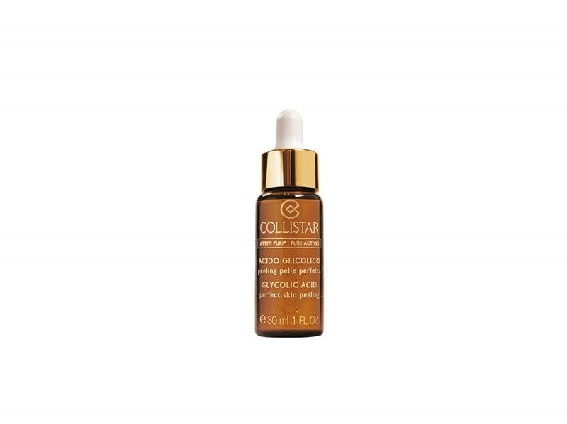 collistar attivi puri acido glicolico prodotti viso pelle levigata purificata perfetta giovane