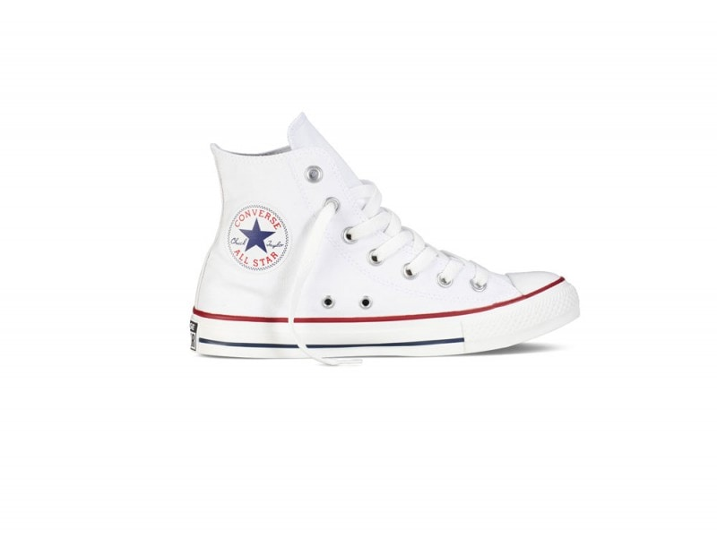 all star converse alte bianche