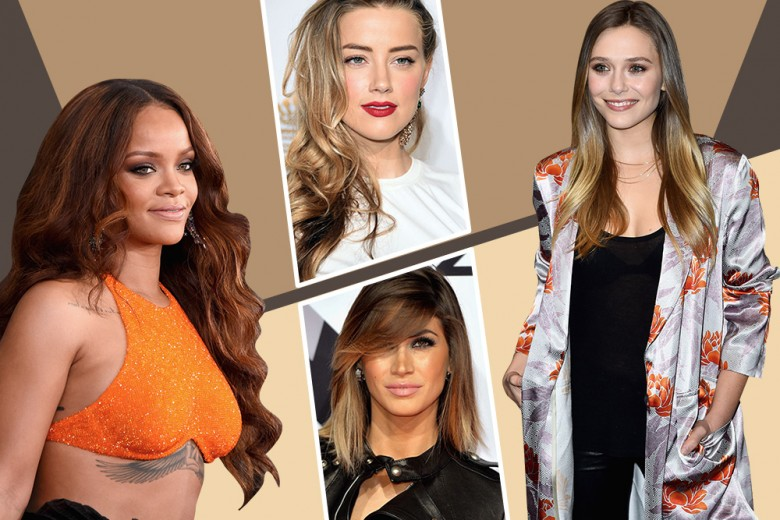 Capelli sfumati: le scelte più glam delle star