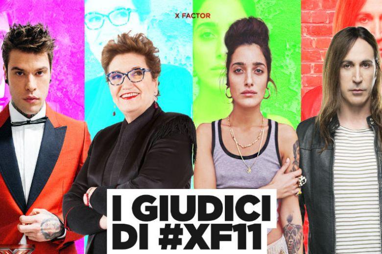 X Factor 2017: i giudici sono Fedez, Manuel Agnelli, Mara Maionchi e Levante