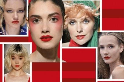 Trucco labbra: tutte le sfumature del rosso